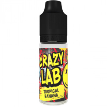 Tropical Banana 10ml Aroma by Crazy Labs
