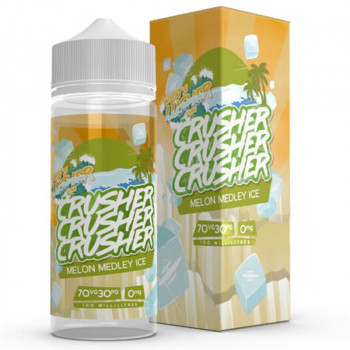 Melon Medley Ice (100ml) Plus e Liquid by Crusher
