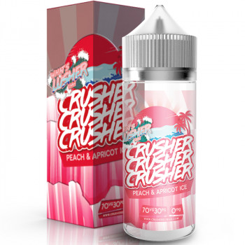 Peach & Apricot ICE (100ml) Plus e Liquid by Crusher
