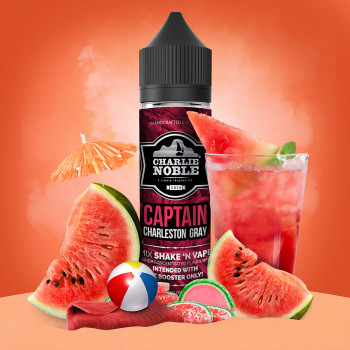 Captain Charleston Gray (50ml) Plus e Liquid by Charlie Noble