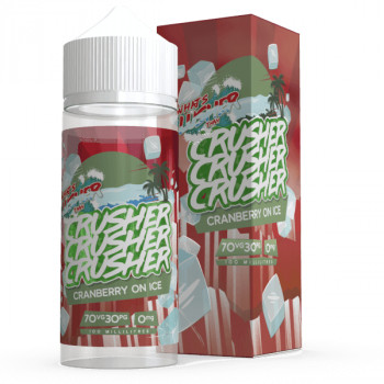 Cranberry on ICE (100ml) Shortfill Liquid by Crusher