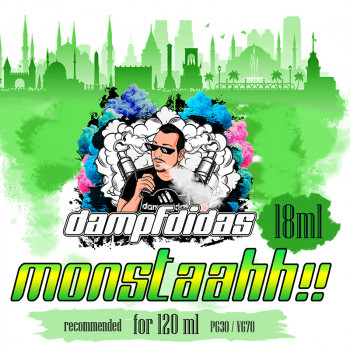 Monstahh!!! 18ml Aroma by Dampfdidas