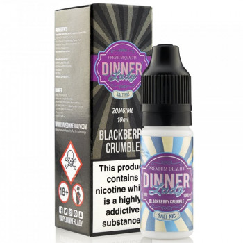Blackberry Crumble 10ml 20mg NicSalt by Dinner Lady