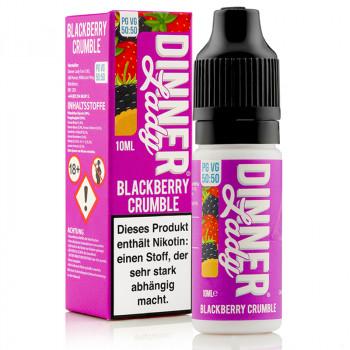 Blackberry Crumble Original Serie 50/50 10ml Liquids by Dinner Lady