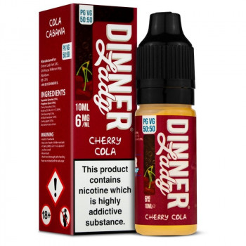 Cherry Cola Original Serie 50/50 10ml Liquids by Dinner Lady