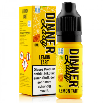 Lemon Tart Original Serie 50/50 10ml Liquids by Dinner Lady