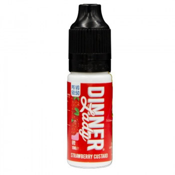 Strawberry Custard Original Serie 50/50 10ml Liquids by Dinner Lady