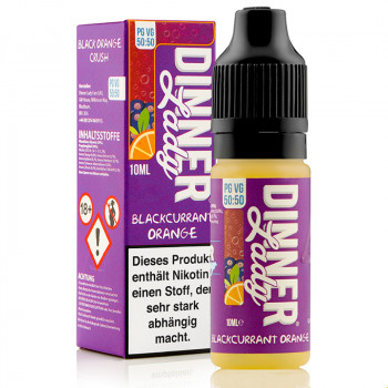 Blackcurrant Orange Summer Holidays Serie 50/50 10ml Liquids by Dinner Lady