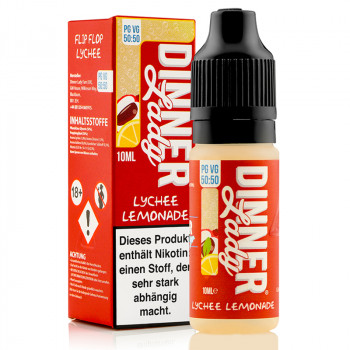 Lychee Lemonade Summer Holidays Serie 50/50 10ml Liquids by Dinner Lady