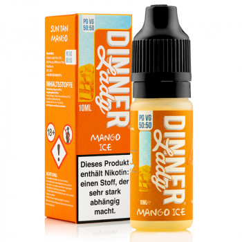 Mango Ice Summer Holidays Serie 50/50 10ml Liquids by Dinner Lady