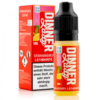 Strawberry Lemonade Summer Holidays Serie 50/50 10ml Liquids by Dinner Lady