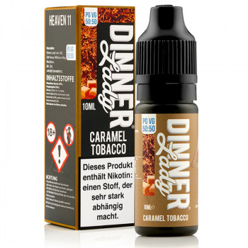 Caramel Tobacco (Heaven 11) Tobacco Serie 50/50 10ml Liquids by Dinner Lady