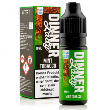 Mint Tobacco (After 11) Tobacco Serie 50/50 10ml Liquids by Dinner Lady