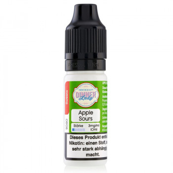Apple Sours Tuck Shop Serie 50/50 10ml Liquids by Dinner Lady