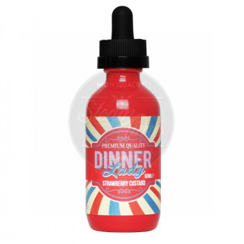 Strawberry Custard MHD 08/18 (60ml) by Dinner Lady e Liquid 0mg / 60ml