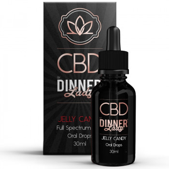 Jelly Candy 30ml Oral Drops by Dinner Lady CBD