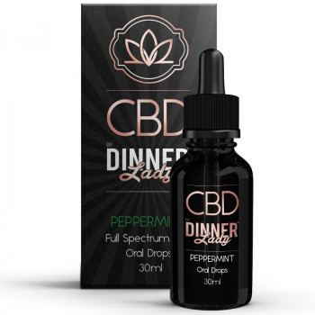 Peppermint 30ml Oral Drops by Dinner Lady CBD