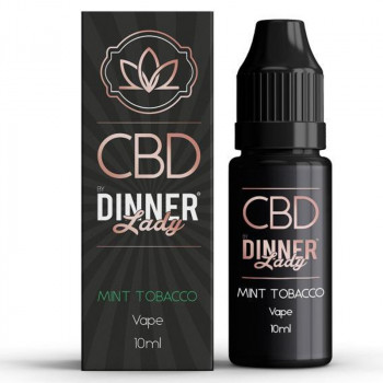 Tobacco Mint 10ml CBD Vape e Liquid by Dinner Lady CBD