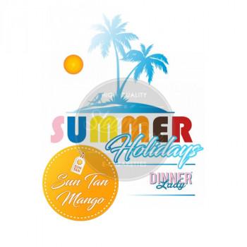 Sun Tan Mango by Dinner Lady Summer Holidays e Liquid 3x10ml