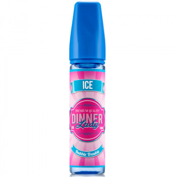 Bubble Trouble Ice (50ml) Plus e Liquid Dinner Lady