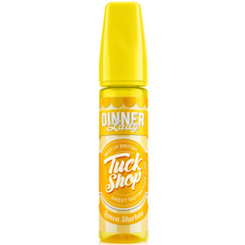 Lemon Sherbts (50ml) Plus e Liquid by Tuck Shop Dinner Lady