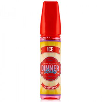 Sweet Fusion Ice (50ml) Plus e Liquid Dinner Lady