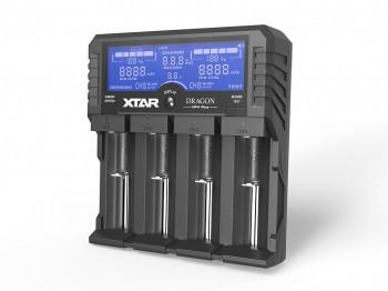 "Xtar VP4 Plus ""Dragon""- Ladegerät für Li-Ion Akkus"