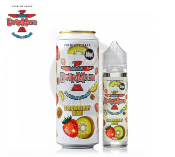Strawberry Kiwi (50ml) Plus e Liquid by Drip More