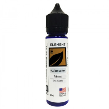 "Tobacco Honey Roasted ""Tbhr"" Dripper Serie (50ml) Plus by Element E-Liquid"