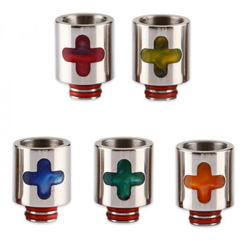Edelstahl Resin Cross 510er DripTip