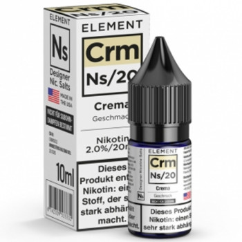 Crm Crema Ns20 10ml 20mg by Element e-Liquid