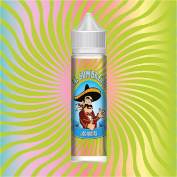 Las Frutas (50ml) Plus e Liquid by El Sombrero