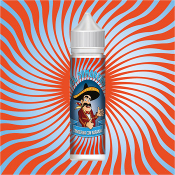 Tangerina con Naranja (50ml) Plus e Liquid by El Sombrero
