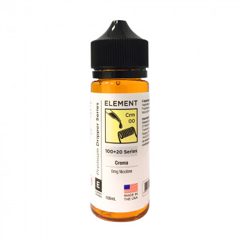 Crema Crm Dripper Serie (100ml) Shortfill by Element E-Liquid
