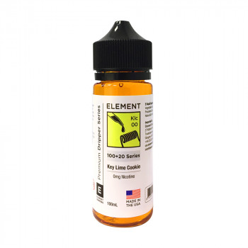 Key Lime Cookie Klc Dripper Serie (100ml) Shortfill by Element E-Liquid