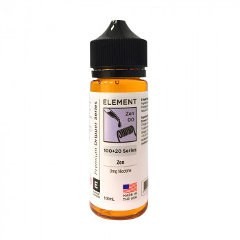 Zen Dripper Serie (100ml) Shortfill by Element E-Liquid