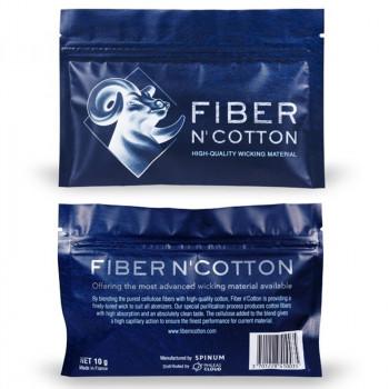 Fiber Freaks SPINUM Fiber N´Cotton 10g Watte für Selbstwickler