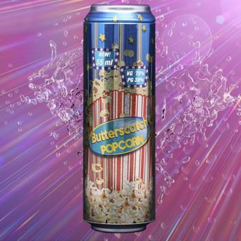 Fizzy Butterscotch Popcorn (55ml) Plus e Liquid by Fizzy Juice