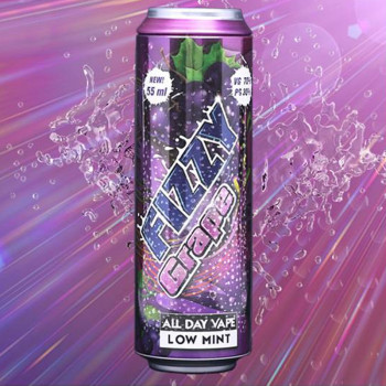 Fizzy Grape (55ml) Plus e Liquid by Fizzy Juice