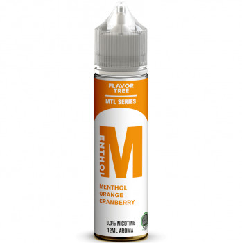 M Menthol Orange Cranberry Aroma MTL Serie 12ml Longfill Aroma by Flavor Tree