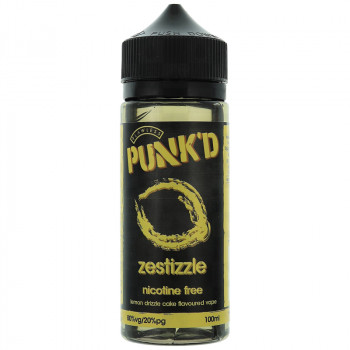 Zestizzle (100ml) Plus e Liquid by Punk'd