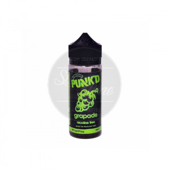 Grapade (100ml) Plus e Liquid by Punk'd