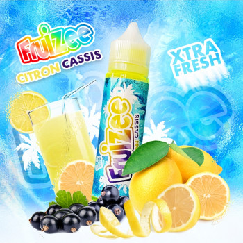 Citron Cassis (50ml) Plus e Liquid by Fruizee
