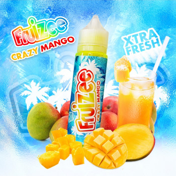 Crazy Mango (50ml) Plus e Liquid by Fruizee