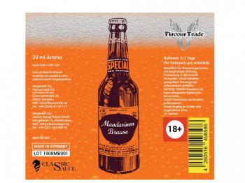 Mandarinenbrause 20ml Bottlefill Aroma by FlavourTrade