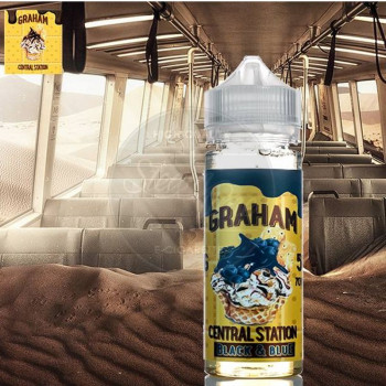 Graham Central Black and Blue 50ml Plus e Liquid by Rounds