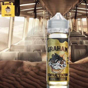 Graham Central Butter Pecan 50ml Plus e Liquid by Rounds