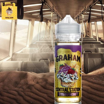 Graham Central Station Strawberry 50ml Plus e Liquid by Rounds