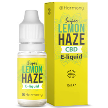 Super Lemon Haze 10ml CBD Liquid by Harmony