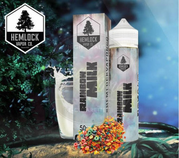 Rainbow Milk (50ml) Plus e Liquid by Hemlock Vapor